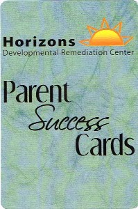 Parent Success Cards